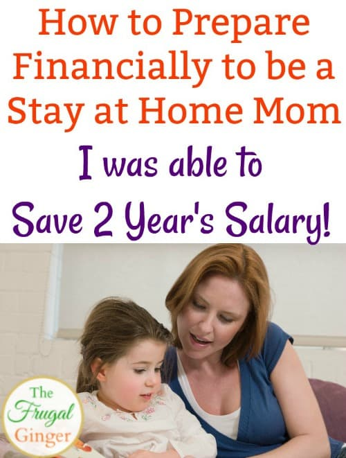 It is possible to be a stay at home mom on one income. These are some budget tips and lifestyle changes that you can make now to start saving money and financially prepare to be a stay at home mom. Use these frugal living ideas for how to be a stay at home mom today!