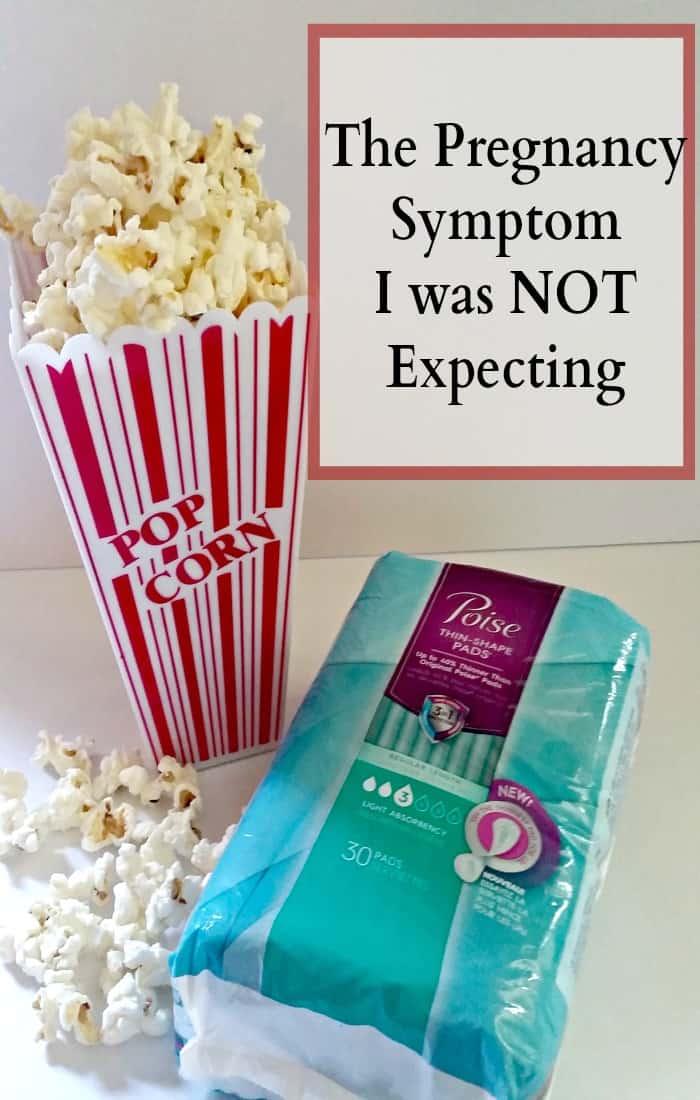 pregnancy symptom