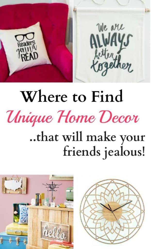 Where To Find Unique Home Decor