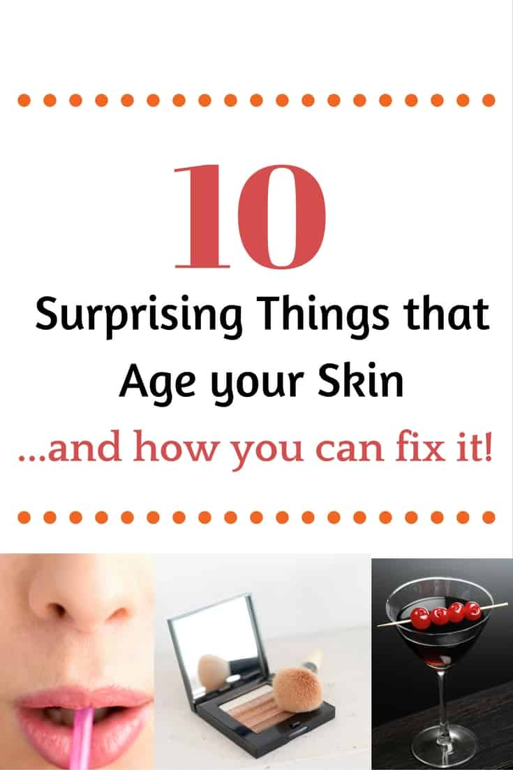 age your skin