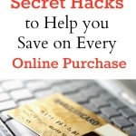 Secret Hacks to Help you Save on Every Online Purchase