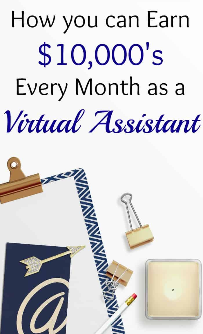 How you can Make $10,000\'s Every Month as a Virtual Assistant