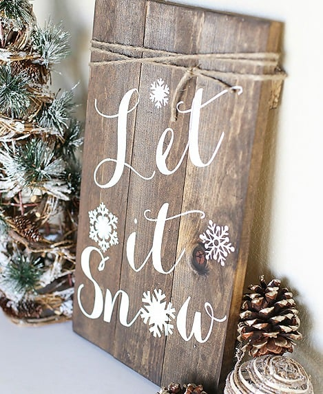 diy-woodland-sign-let-it-snow-winter-sign-by-blooming-homestead-for-live-laugh-rowe