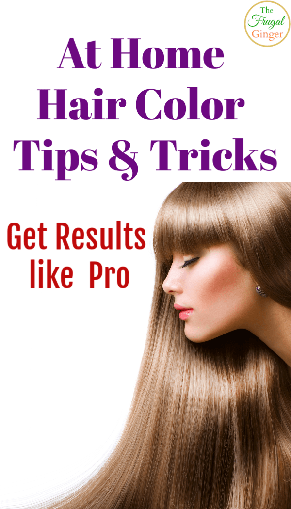 At Home Hair Color Tips: Get Results Like a Pro