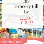 5 Ways to Lower your Grocery Bill by 75%