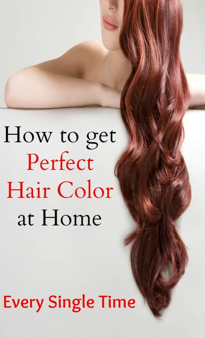 How to Get Perfect Hair Color at Home