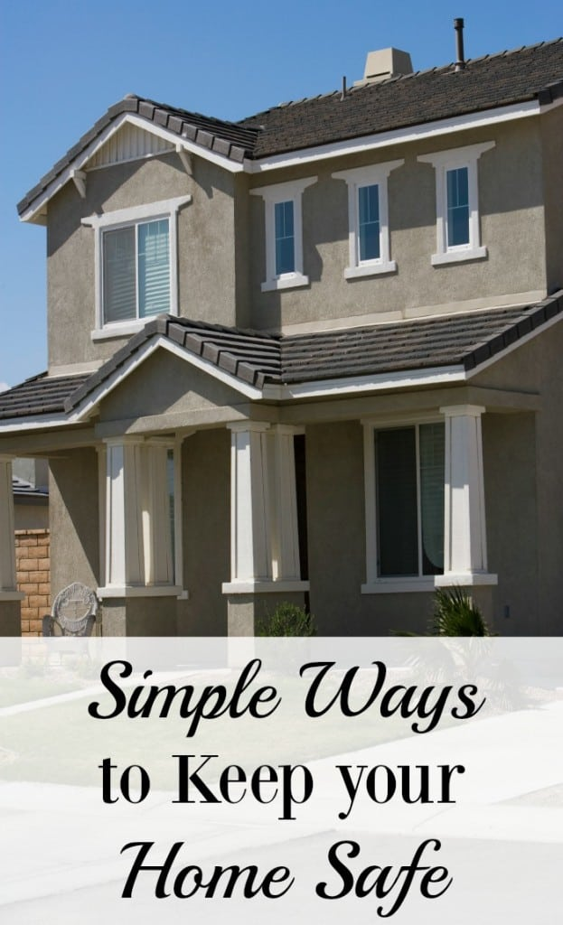 Keep Home Simple New Entry Light: Simple Ways To Keep Your Home Safe