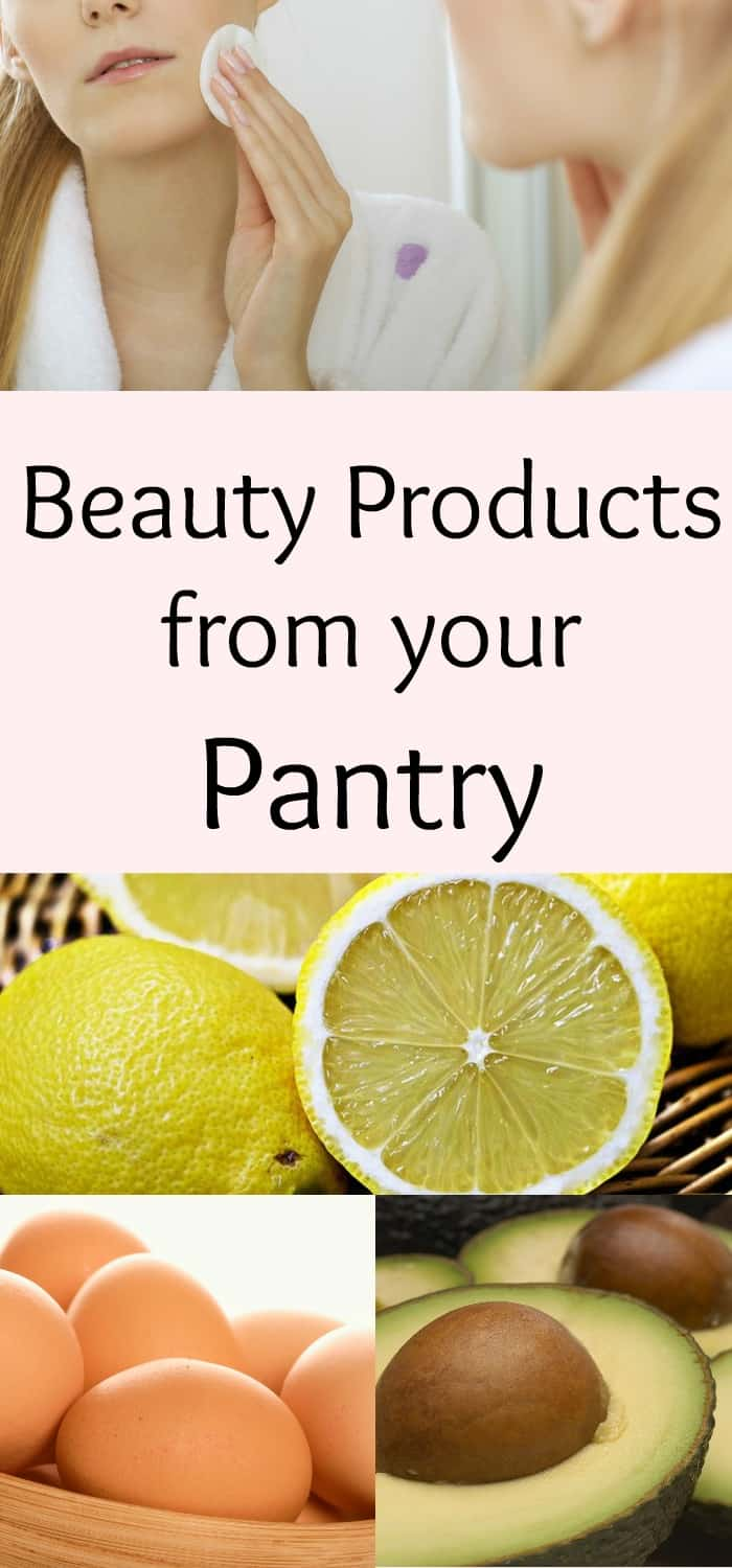 natural beauty products that you can make from items in your kitchen.