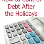 How to Control Debt after the Holidays