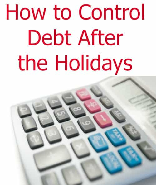 Smart ways to control debt after the holidays without depriving yourself