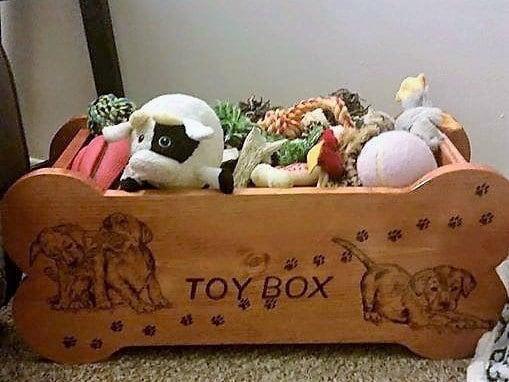pet toy box