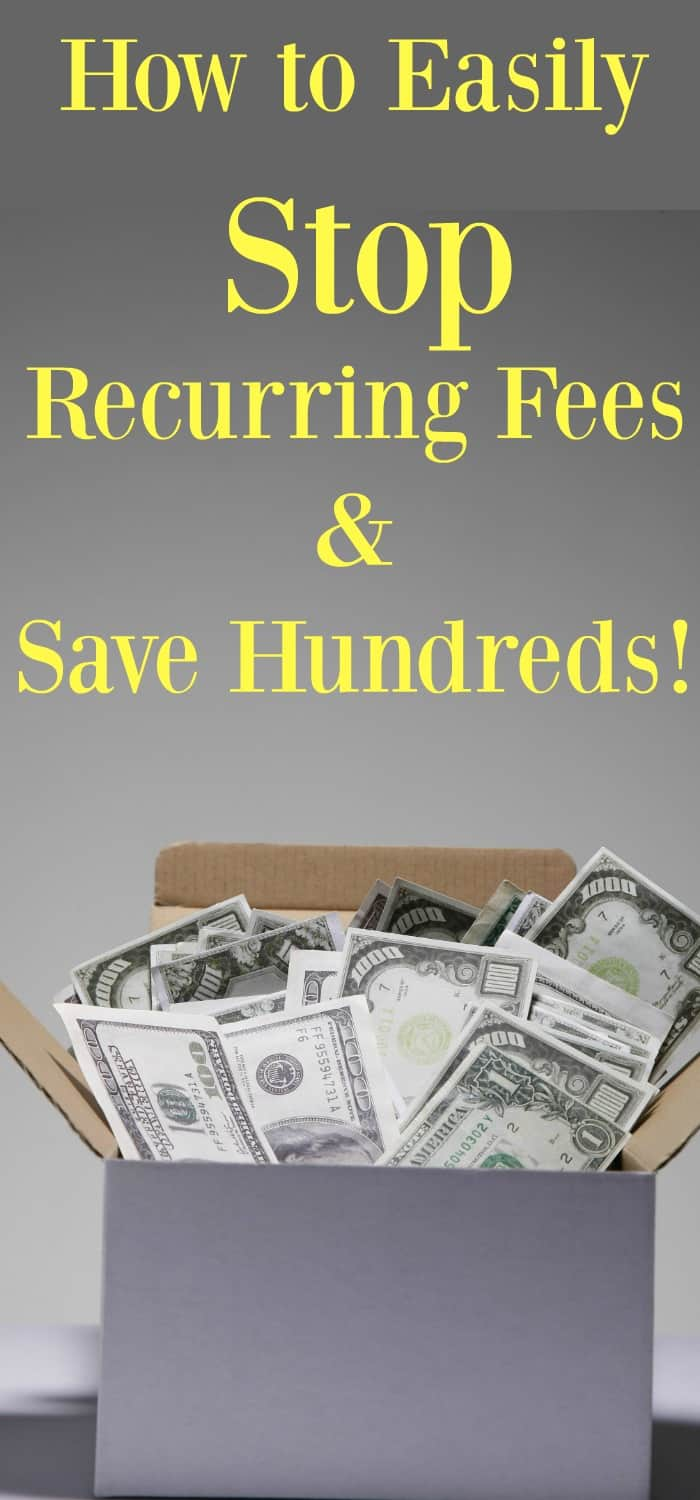 recurring fees