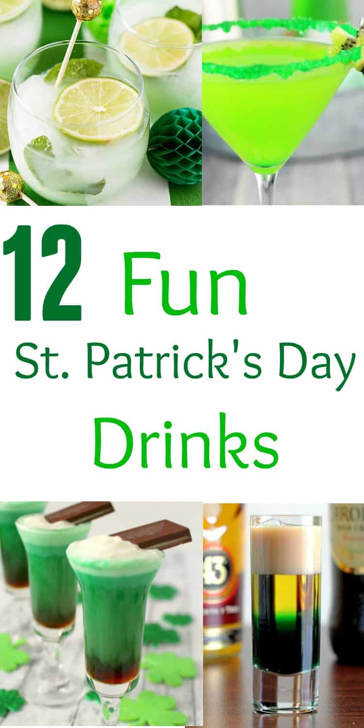 12 Fun St Patrick 39 S Day Drinks