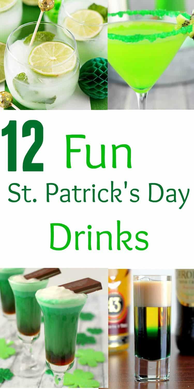 st patricks day drinks pint
