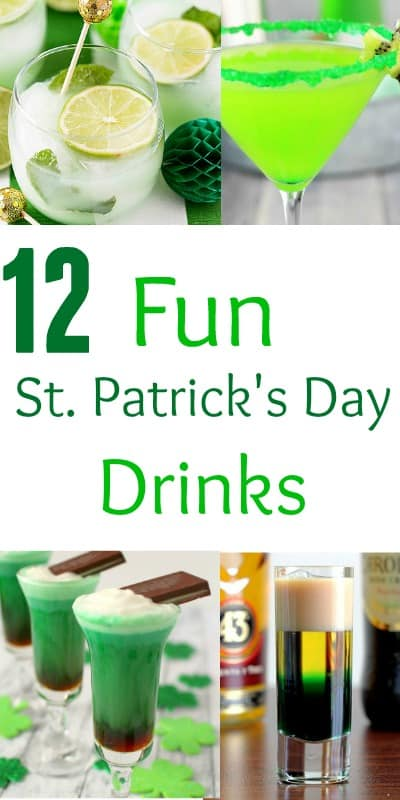 Make these delicious and fun St. Patrick's Day drinks to start celebrating.