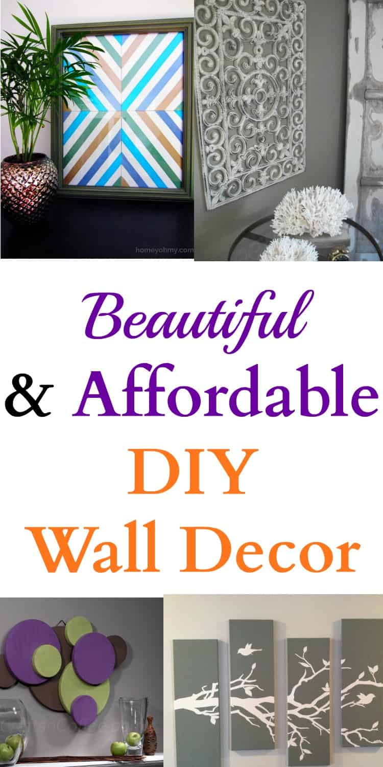 Affordable Diy Wall Decor : Beautiful affordable diy wall decor