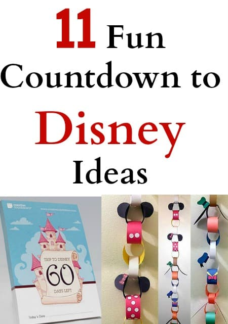 11 fun countdown to disney ideas