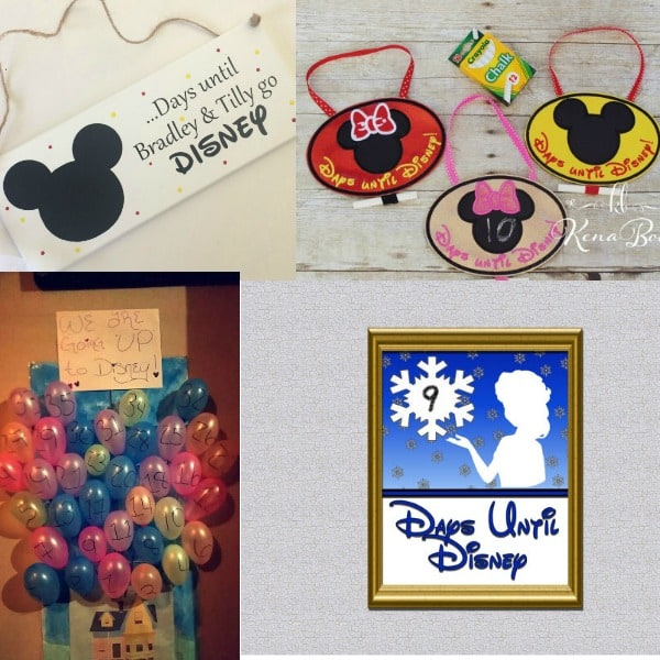 These fun Disney countdown ideas are easy for the whole family to make, even the kids! Choose from a calendar, printable, chain and more! Use these awesome DIY ideas to countdown the days until you get to meet Mickey Mouse!
