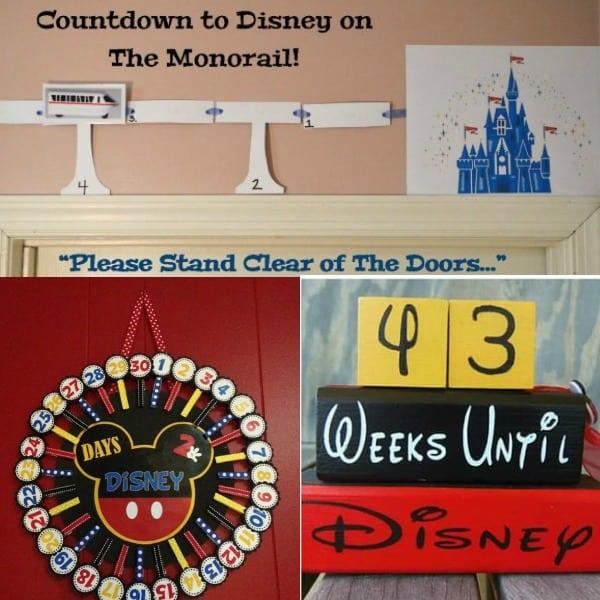 Countdown to Disney / Fun Disney Ideas / Disney Trip / Disney Crafts