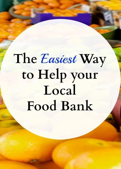 how to help food bank, volunteer, donate
