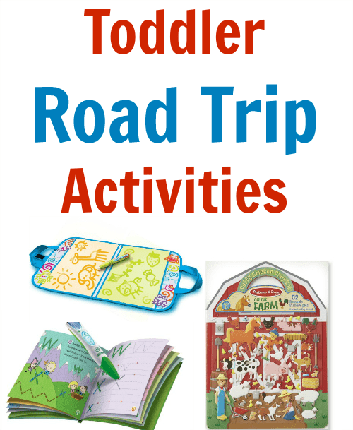 Keep your little one occupied with these toddler road trip activities and keep your sanity!