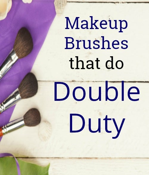 Add these double duty makeup brushes to your beauty essentials! They are the best affordable options so you can save money while getting multiple uses. Cheap products to keep you on budget.