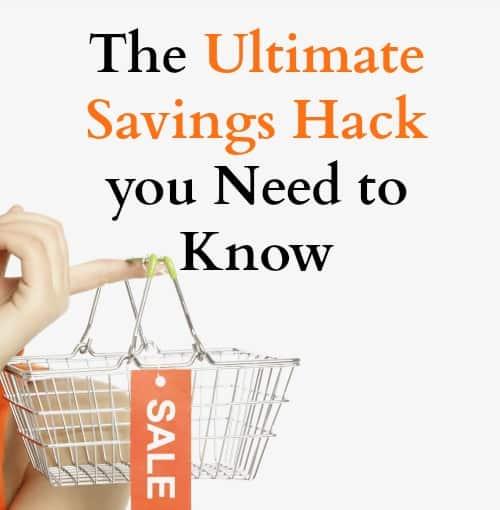 savings hack, life hack, money saving tips, shopping, online shopping, budget, frugal tips