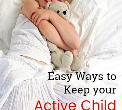 Easy Ways to Keep your Active Child Occupied when they're Sick