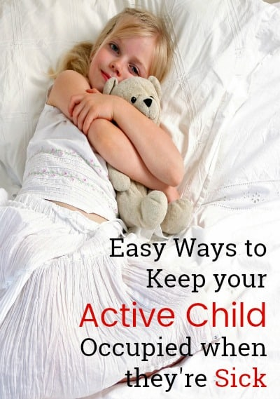 sick child, kid activities, parenting tips and tricks, toddler tips, AD