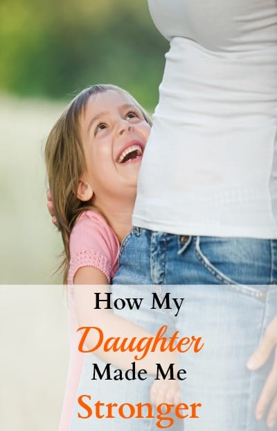I never knew who strong I could be as a mom when I had my daughter. Our relationship is everything to me and she is my inspiration. See how my life has changed for the better and if you can relate.