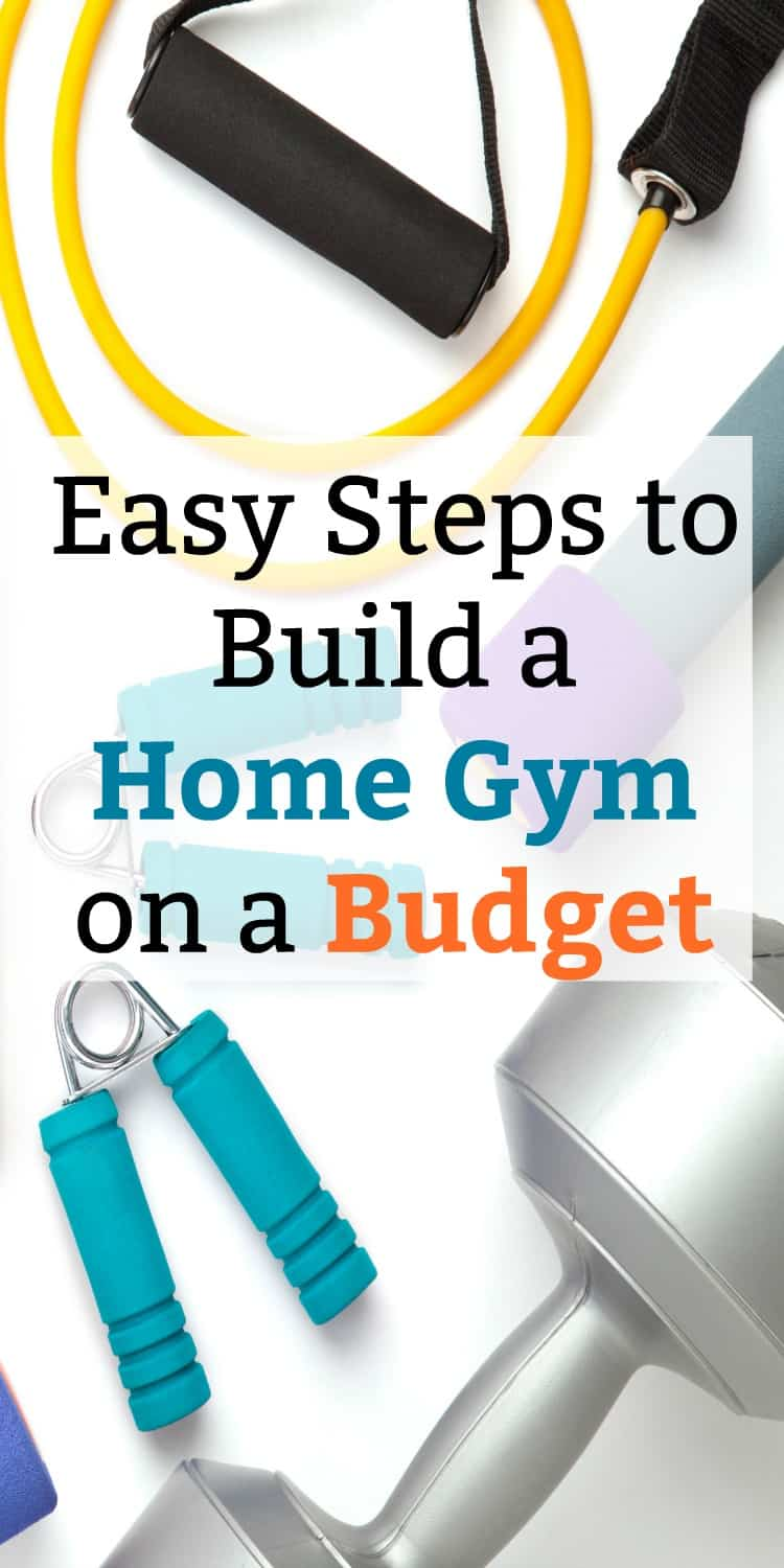 Don't spend a fortune on fitness equipment! I was able to build a home gym on a budget with these tips and ideas. Now I can do my workouts and see weightloss in no time!