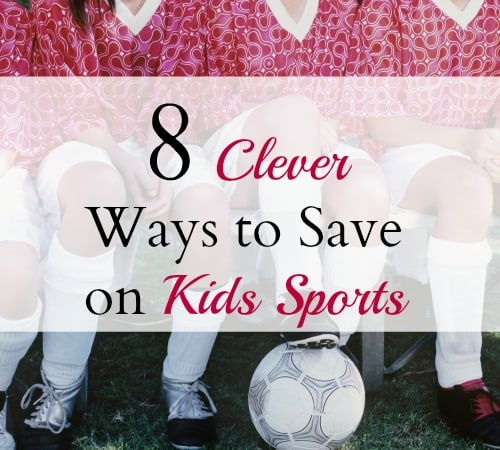 8 clever ways to save on kids sports activities.