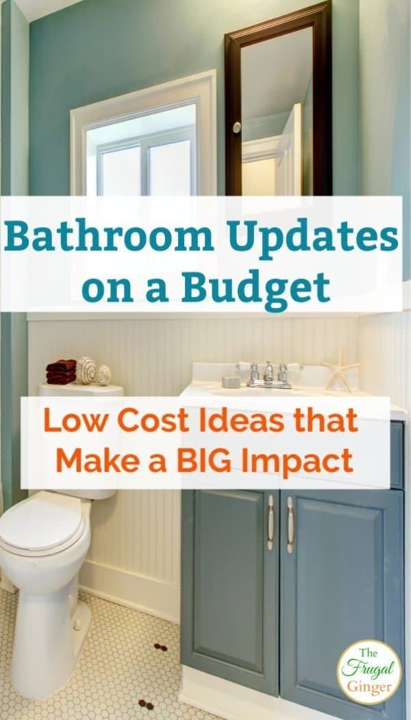 Bathroom Updates On A Budget Low Cost Ideas That Make A