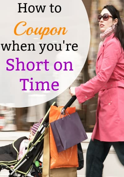 Couponing for beginners can be overwhelming but with some organization you can easily save on groceries and online. Use these ideas to coupon when you don't have a lot of time. Start frugal living the smart way!