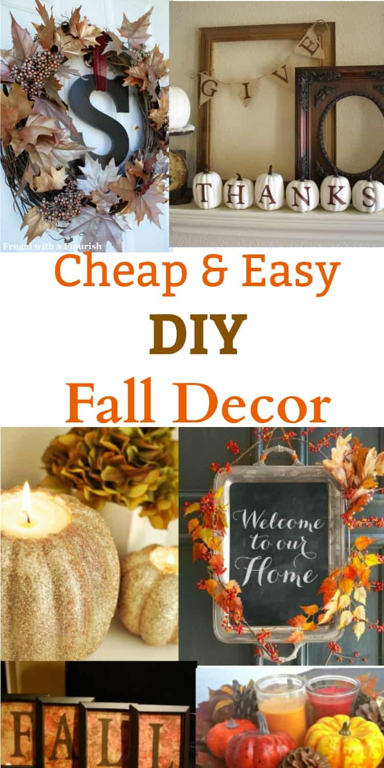 diy home decor cheap diy fall decor ideas cheap and easy to make 10730