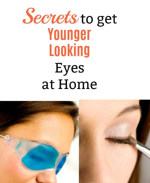 Use these skin care tips and tricks to get younger looking eyes with your own customized routine. These are great anti aging DIY tips you can do at home instead of having to get a spa or facial treatment.