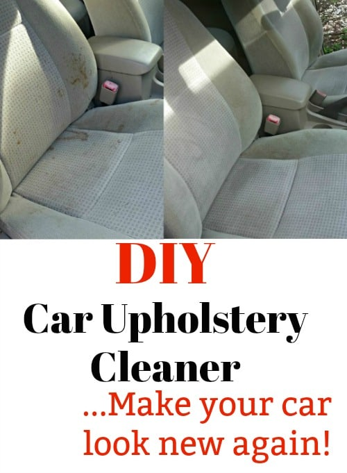 diy car upholstery cleaner make your interior look brand new. Black Bedroom Furniture Sets. Home Design Ideas