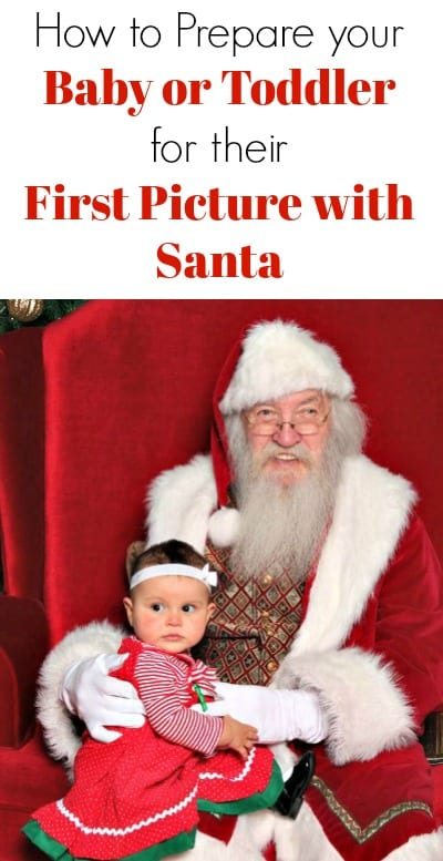 Help prepare your baby or toddler for their first photo with Santa Clause! Get a great picture at the mall with these ideas for some great family memories!