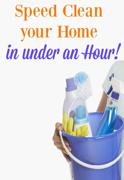 Get your home ready for holiday guests with these speed cleaning tips and hacks. Grab the free printable that has a list of everything you need to get your house ready!