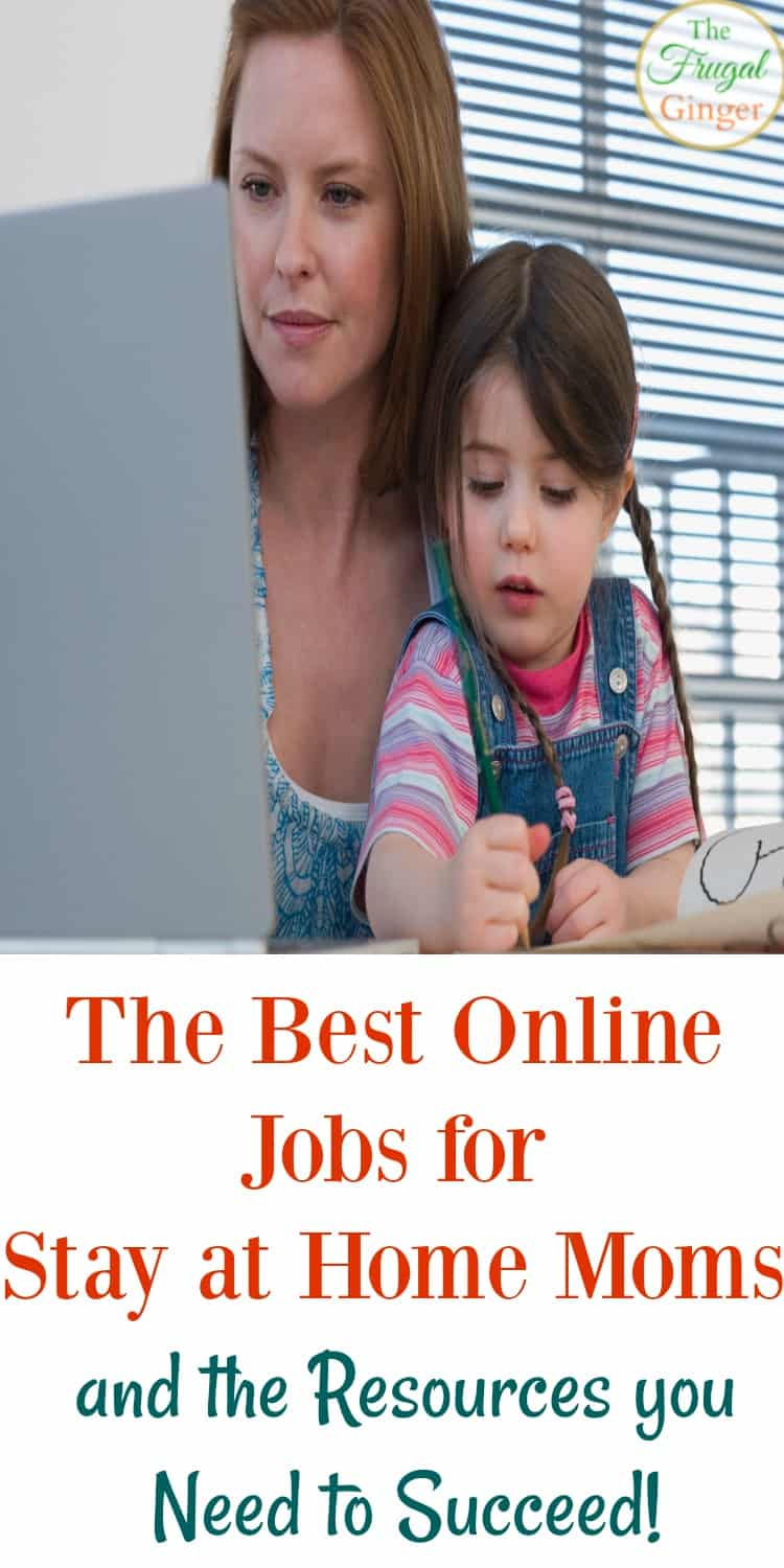 These are the best online jobs for stay at home moms. They are legit ways to earn extra cash or even make a career change so you can work from home and spend more time with your kids. I know they work because I have done all of them myself!