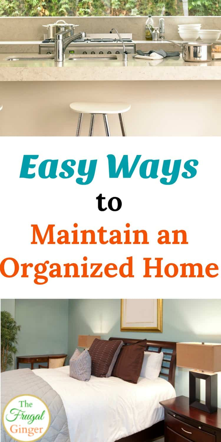 You finally got your home organized and free from clutter. Keep it that way with these awesome tips on how to maintain organization. These easy ideas are perfect for families to do together to keep the household neat and tidy. Don't let all that hard work go to waste!