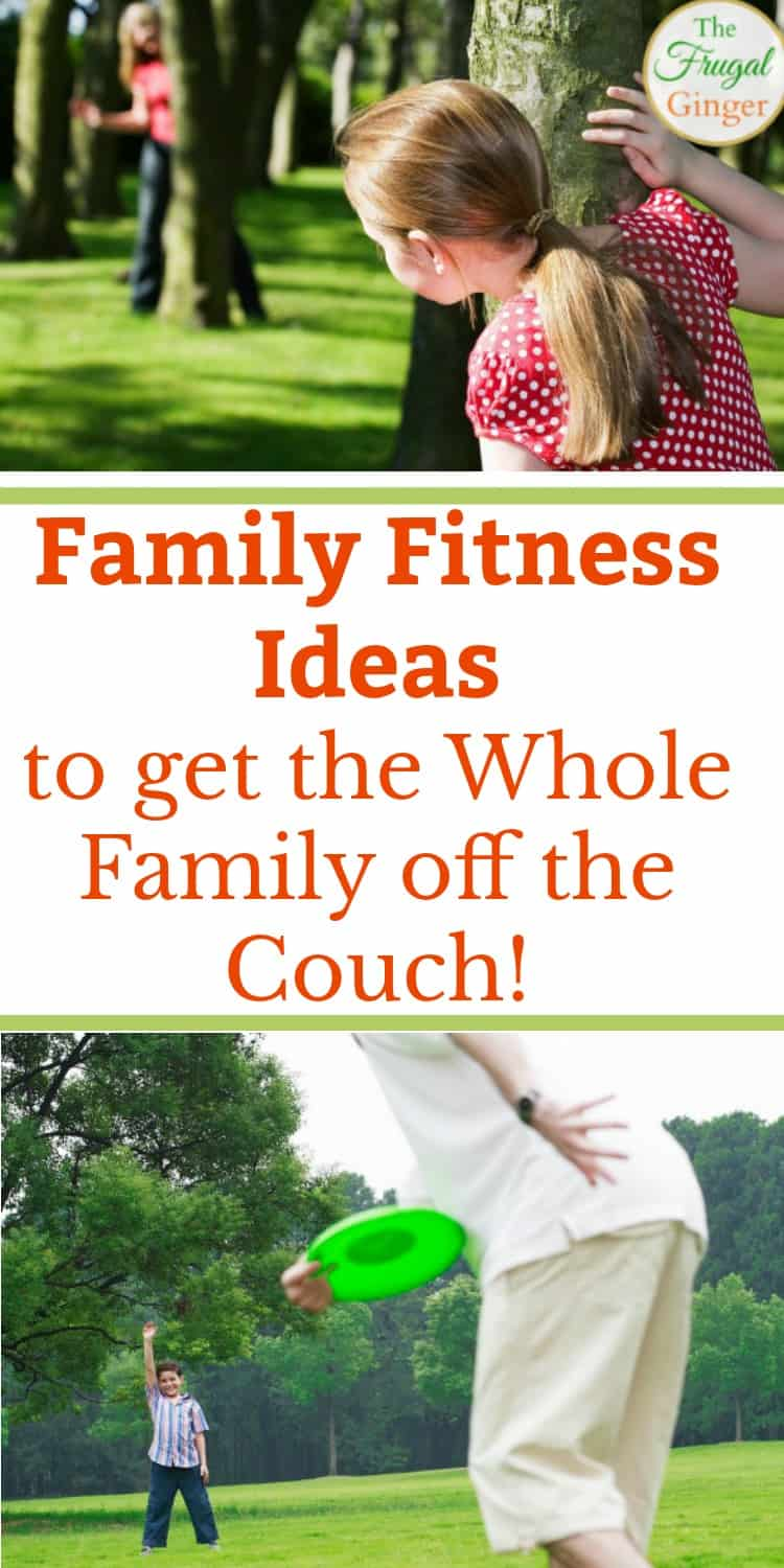 These family fitness activities and ideas are a fun way to get the kids moving and make your family healthier. Use games and outdoor activities to change your health and live longer together!