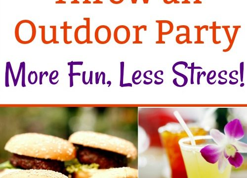 Easy Ways to Throw an Outdoor Party: More Fun, Less Stress!