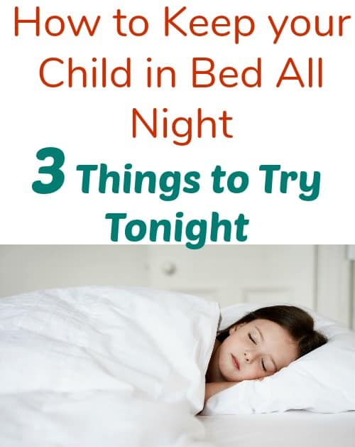 Wondering how to keep your child in bed once and for all? These tips and products helped with our toddler and I hope it will help yours. Now the both of you can get a good night's sleep in your own beds.