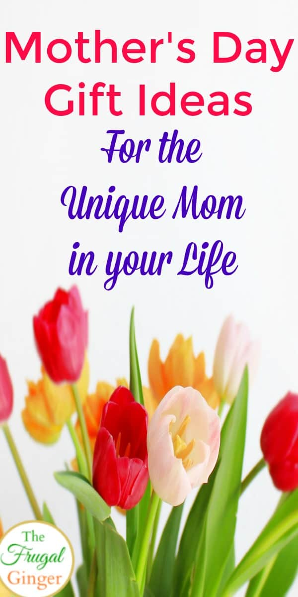 These unique Mother's day gifts are perfect for the mom in your life. Easy last minute ideas and products to buy to really show how much mom means to you. Awesome ideas for grandma, too!