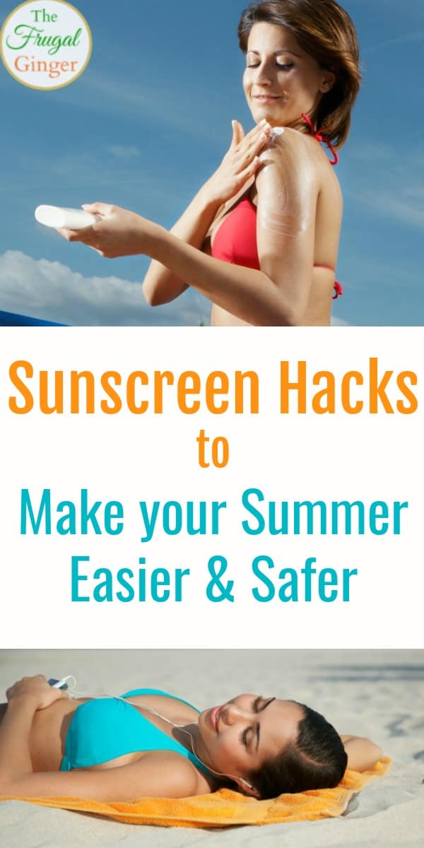 These are the best sunscreen hacks and tips to make your summer easy and safe for the entire family. Use these ideas to take care of your health and skin care in the brutal sun. I love the makeup tips!
