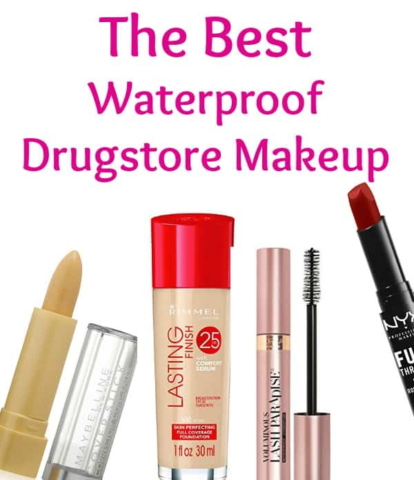 These waterproof makeup pics are perfect for swimming and the beach. These are the best drugstore beauty products to keep you looking great all summer without costing a fortune!