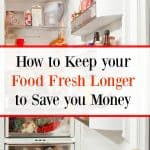 How to Keep Food Fresh Longer: Save $100's Every Month!
