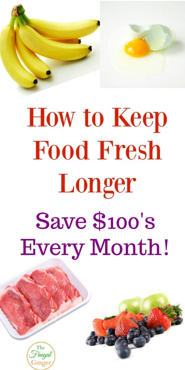 One of the easiest ways to save money on groceries is to keep food fresh longer. Use these storage tips and learn how to store fruits and vegetables properly in the refrigerator and in your kitchen.