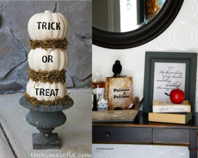 Make these super cute and fun Halloween dollar store decorations for your next party or just an awesome way to decorate your home. Simple DIY ideas anyone can do if you want to stick to a budget.